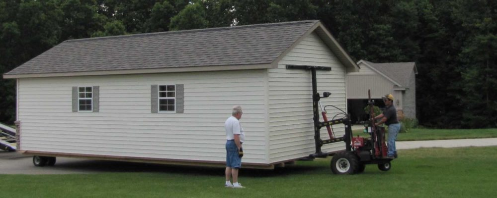 Buildings Delivered To Your Home